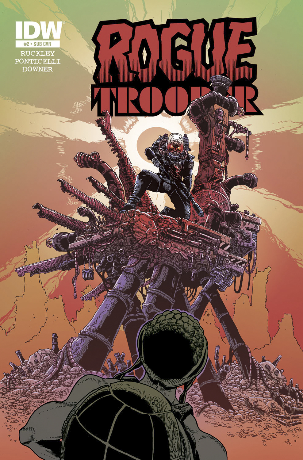 ROGUE TROOPER #3 SUBSCRIPTION VAR