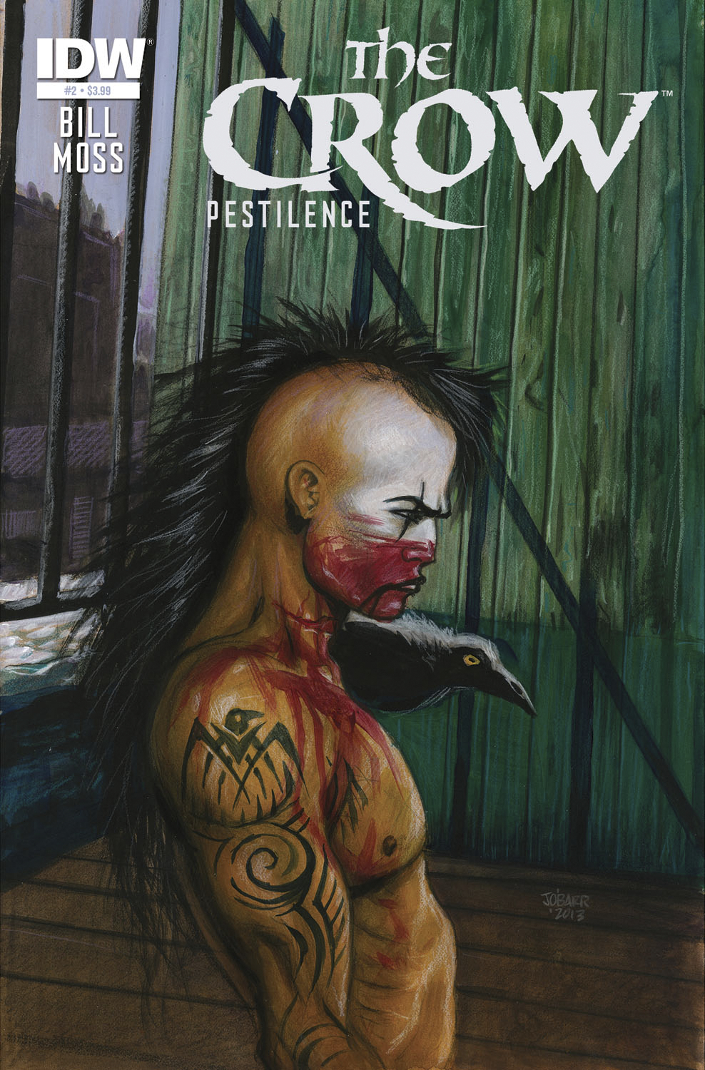 CROW PESTILENCE #2 SUBSCRIPTION VAR
