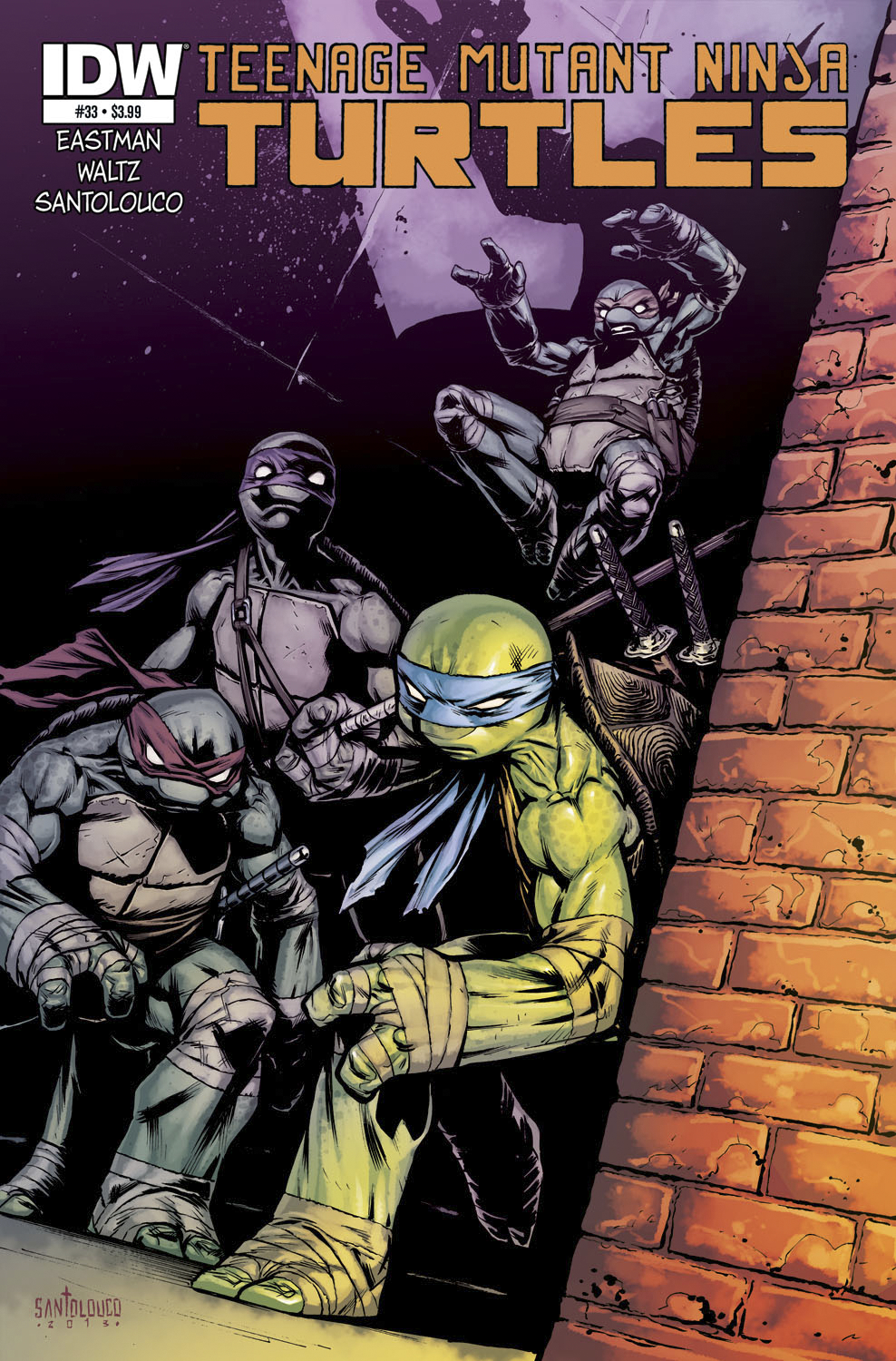 TMNT ONGOING #33 FREE 10 COPY INCV