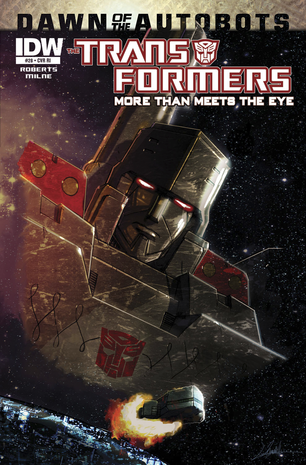 TRANSFORMERS MORE THAN MEETS EYE #28 SUBSCRIPTION VAR
