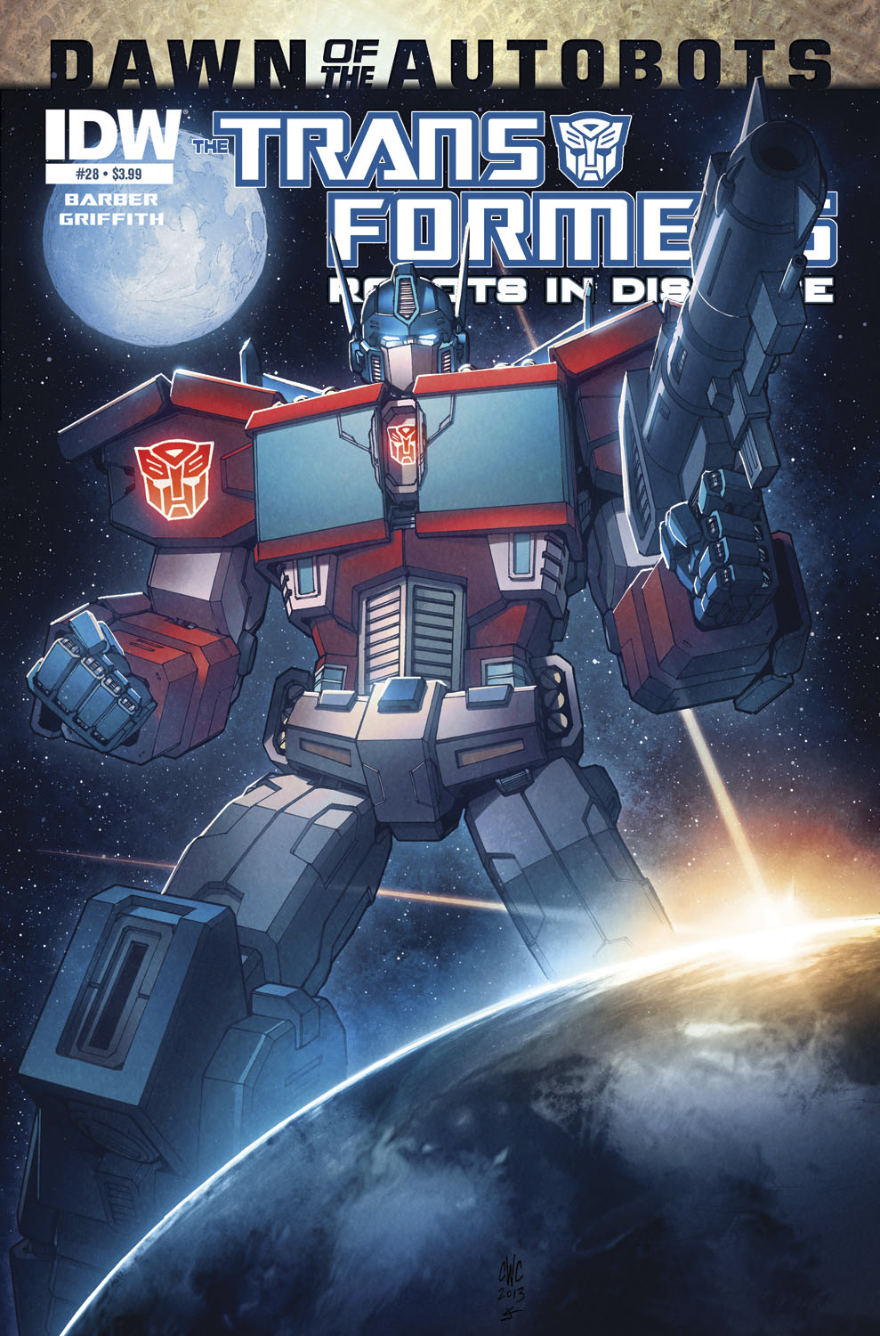 TRANSFORMERS ROBOTS IN DISGUISE #28 SUBSCRIPTION VAR