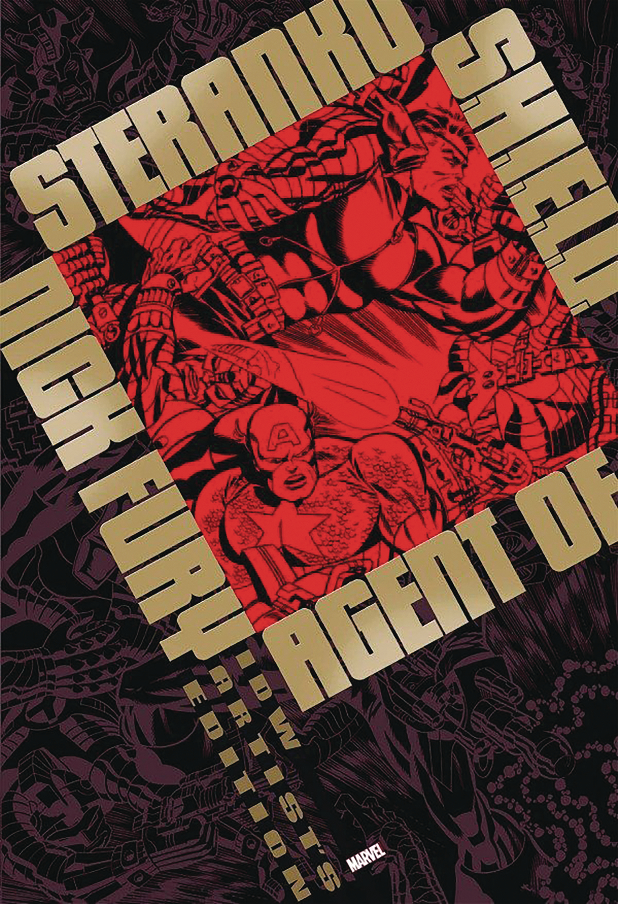STERANKO NICK FURY AGENT OF SHIELD ARTIST ED