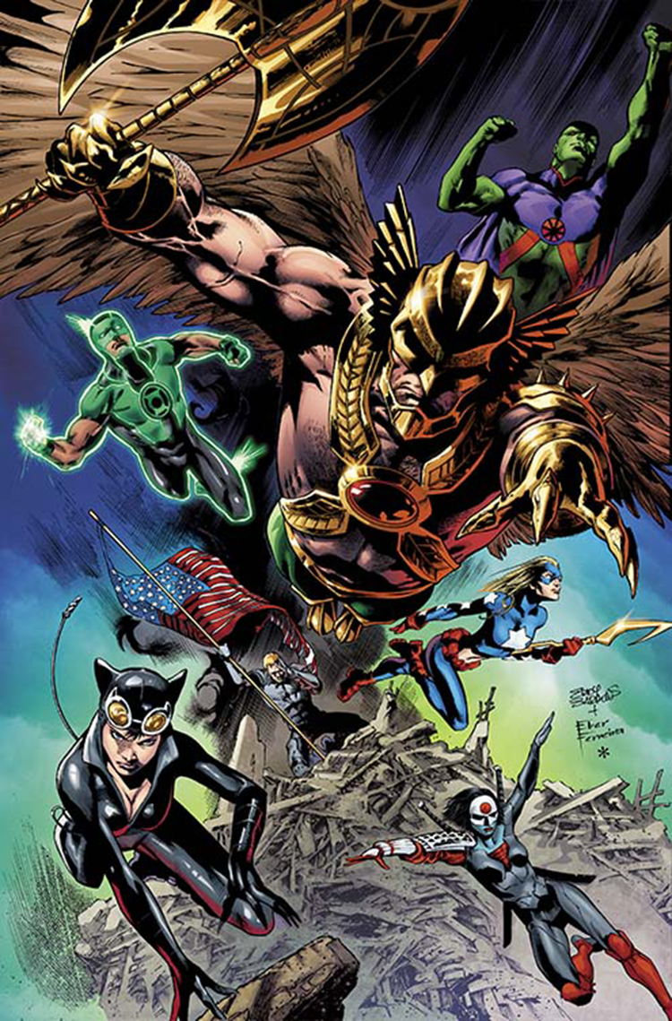 JUSTICE LEAGUE OF AMERICA #14 COMBO PACK