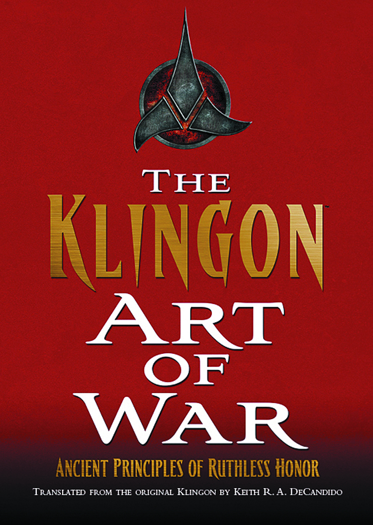 KLINGON ART OF WAR HC