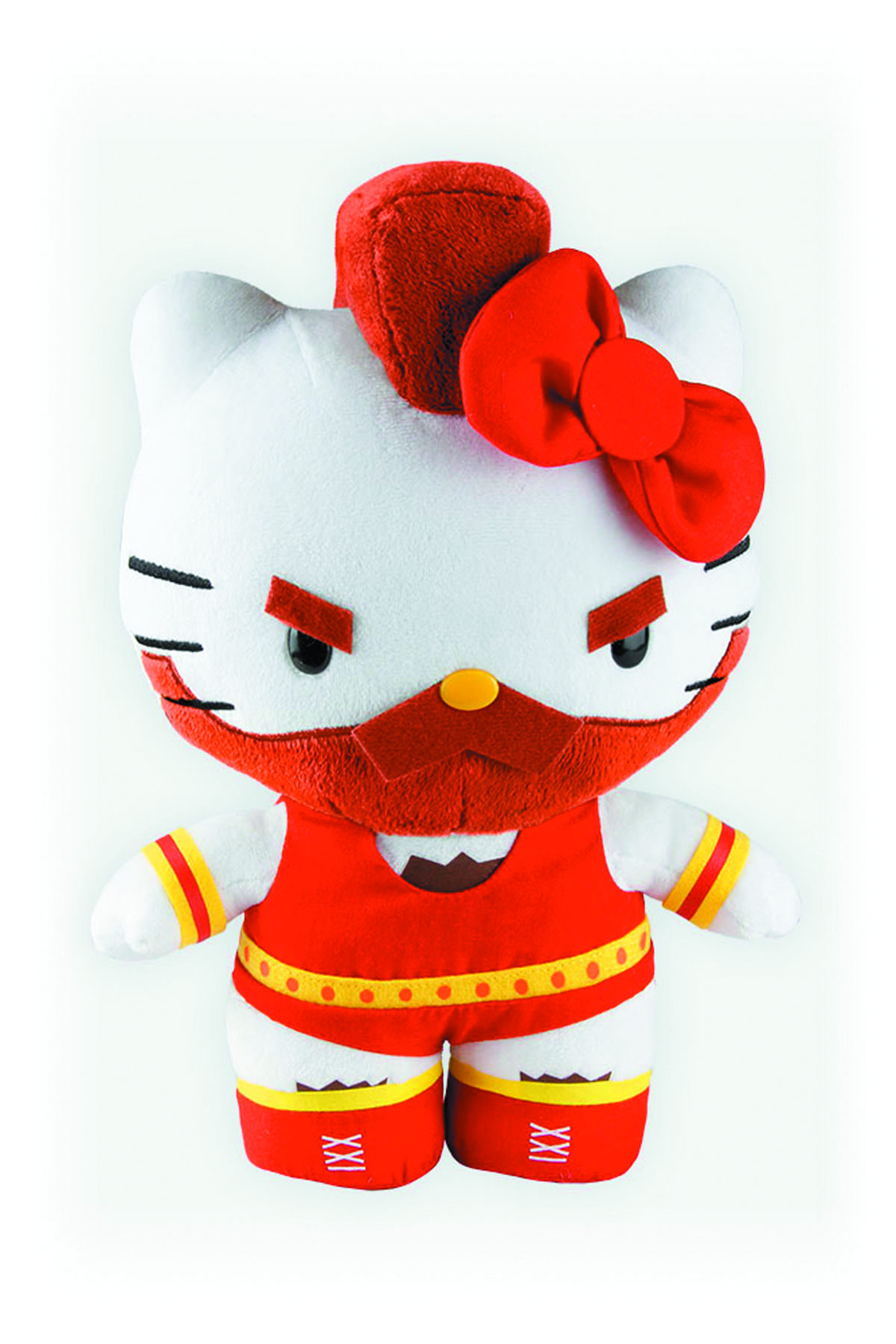 SANRIO X STREET FIGHTER ZANGIEF 10-IN PLUSH