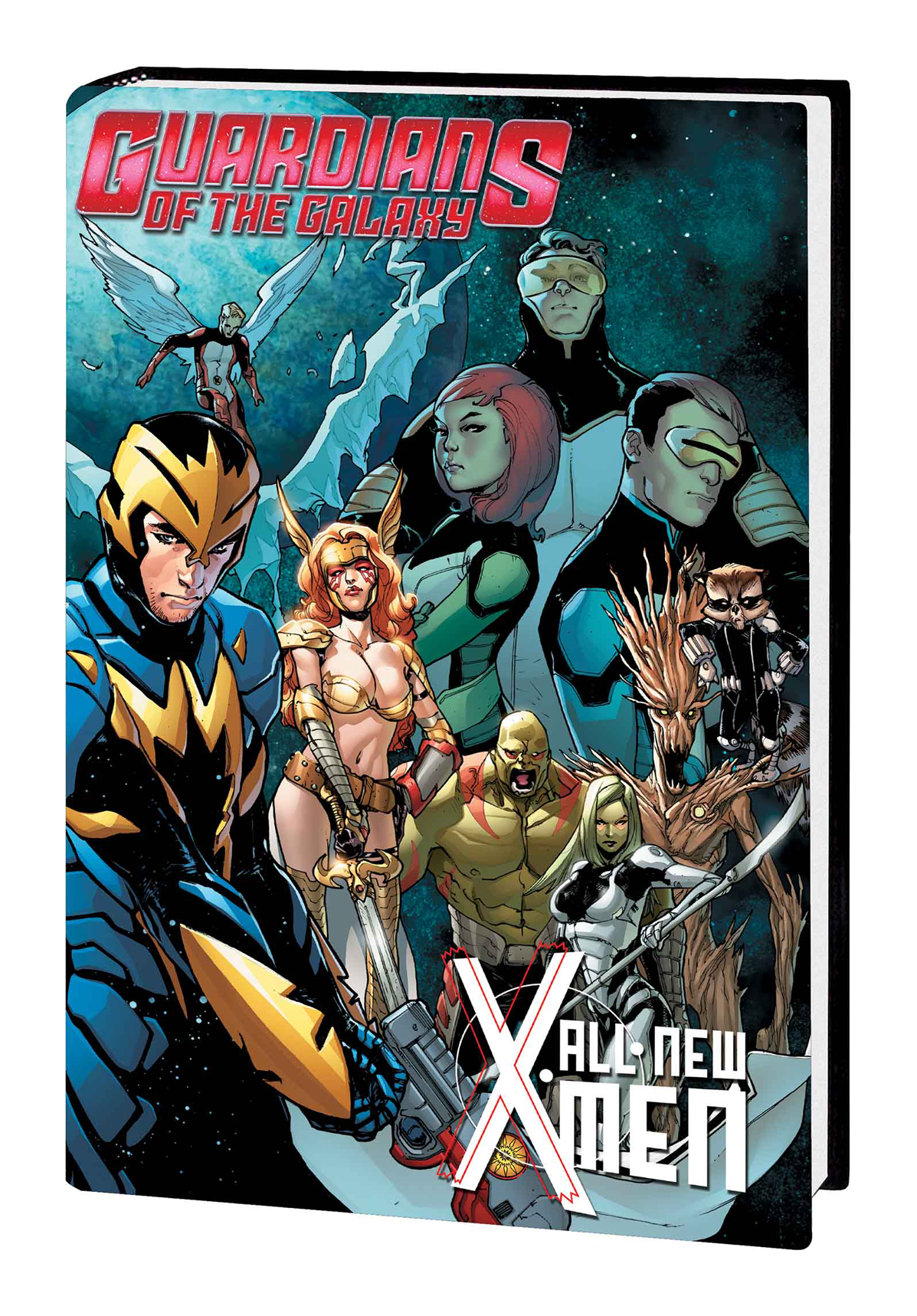 GOTG ALL NEW X-MEN TRIAL OF JEAN GREY PREM HC
