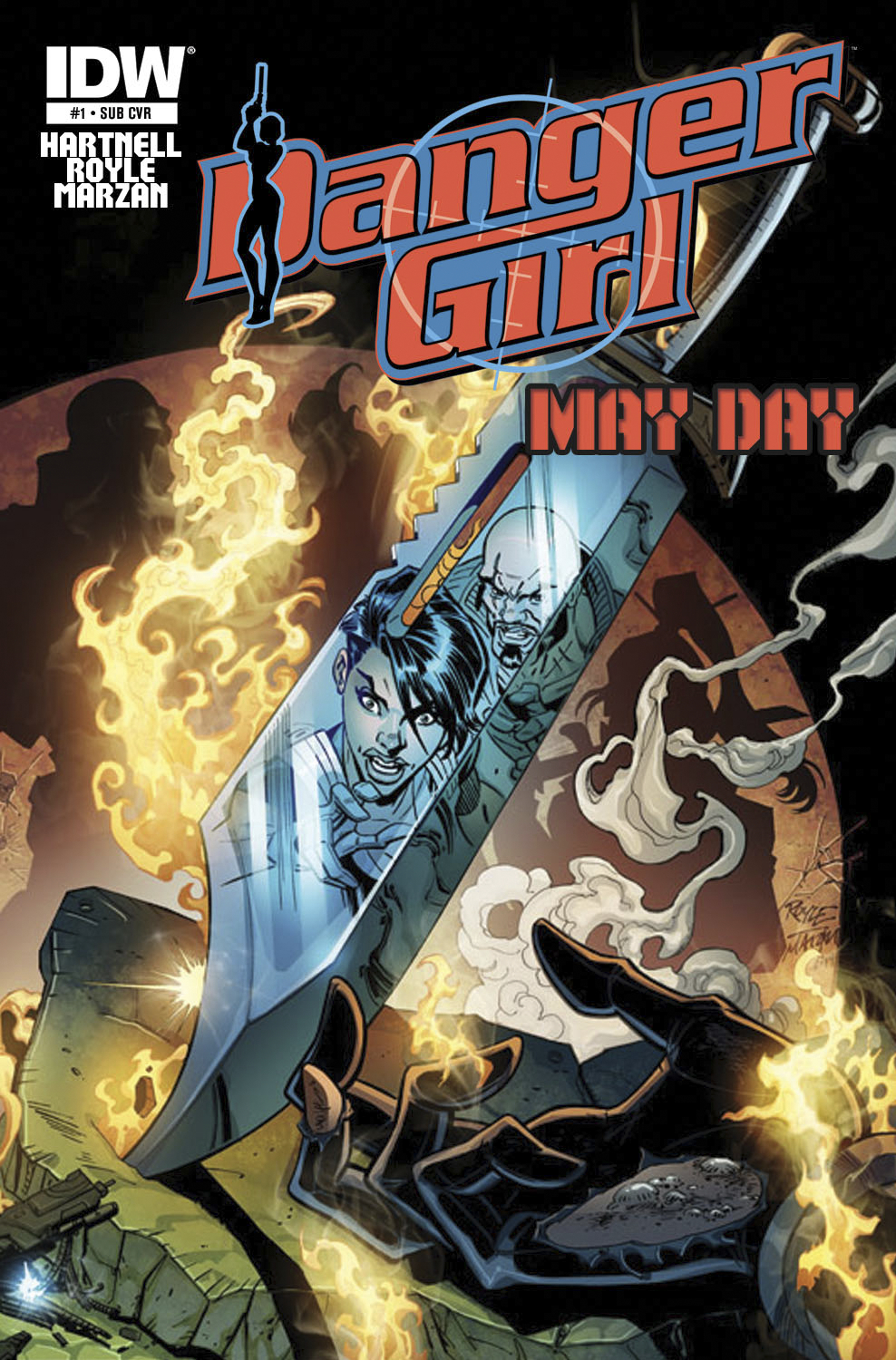 DANGER GIRL MAYDAY #1