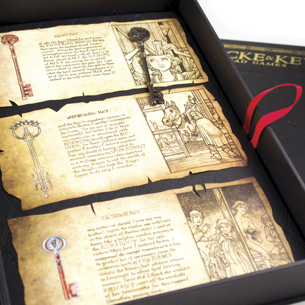 LOCKE & KEY HEAD GAMES DLX HC RED LABEL ED