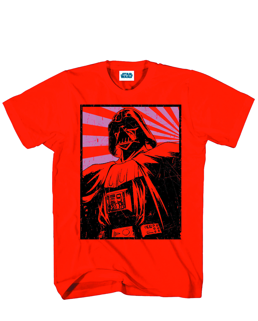 STAR WARS RAY OF HOPE PX RED T/S SM