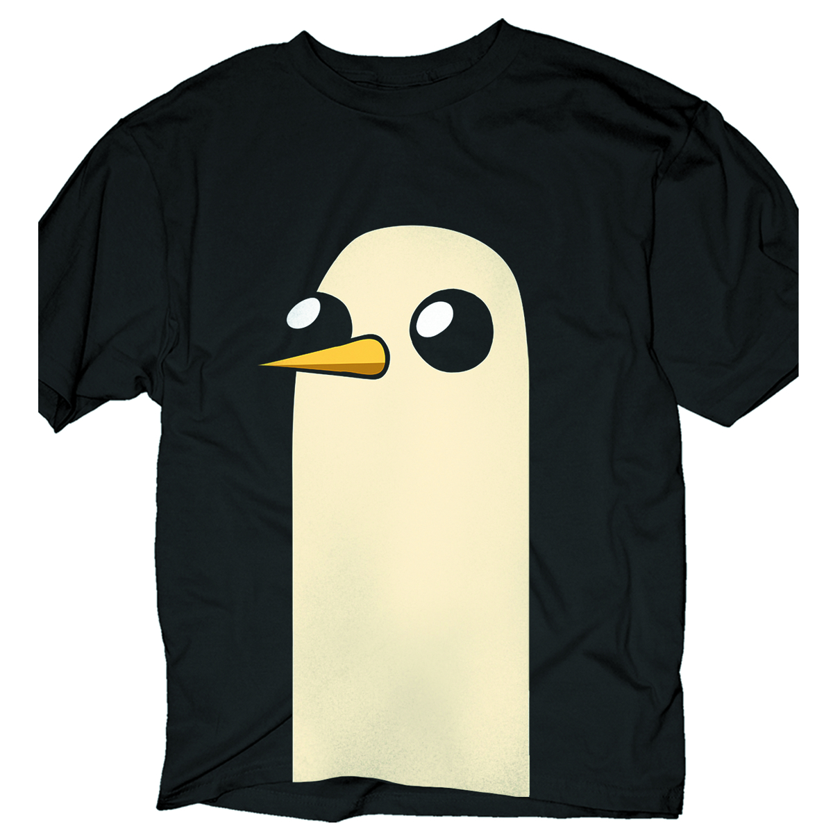 ADVENTURE TIME GUNTER LG PRINT PX BLK T/S XXL
