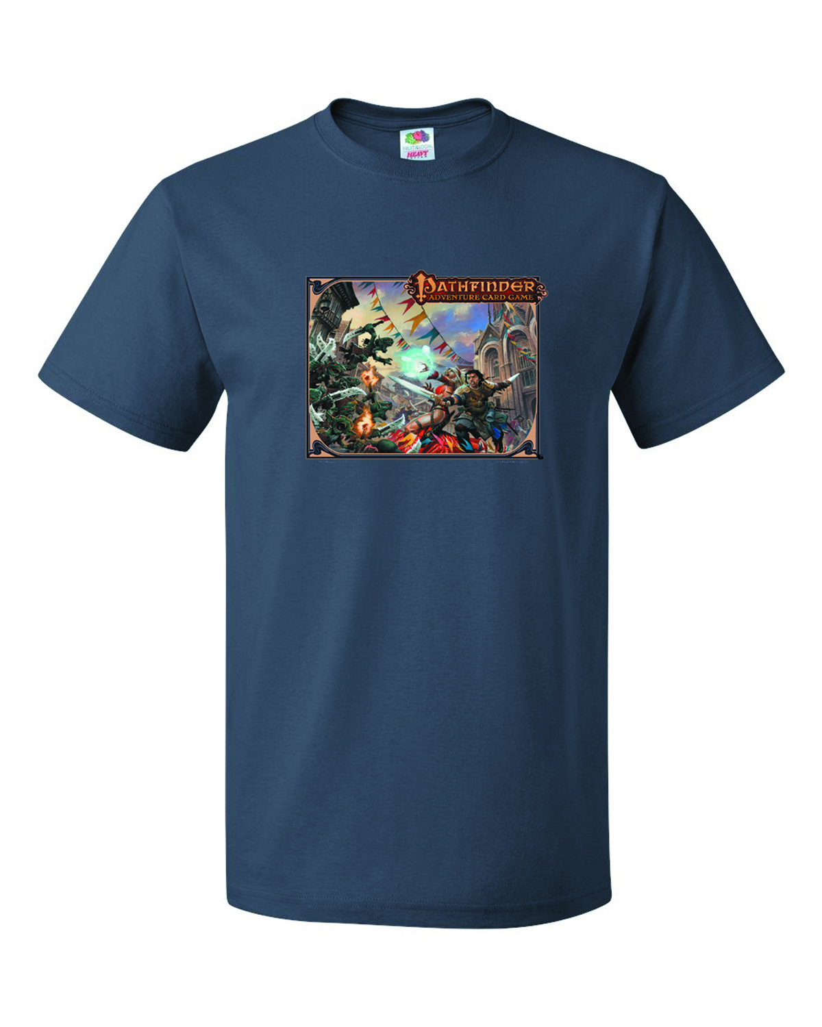 PATHFINDER CARD GAME NAVY T/S XL