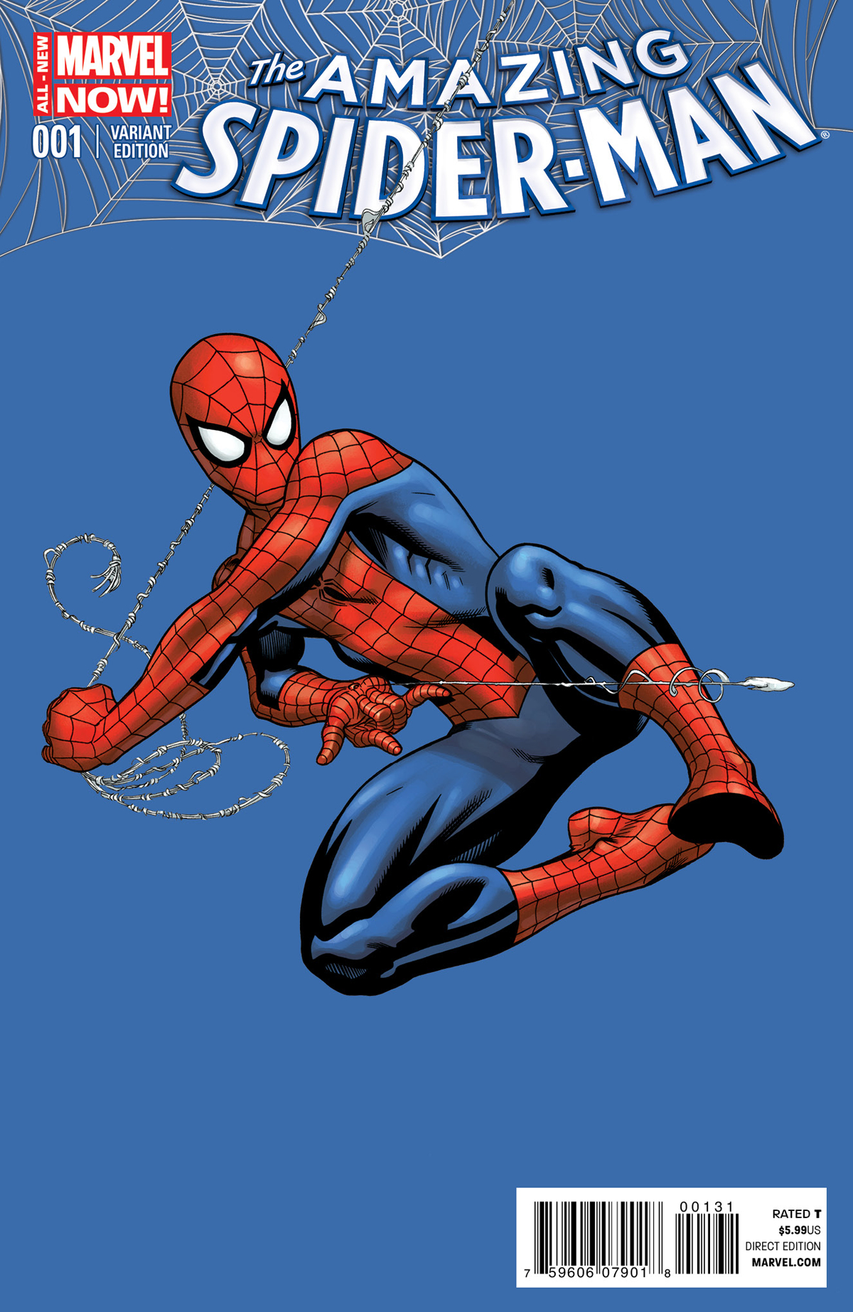 AMAZING SPIDER-MAN #1 MCGUINNESS VAR ANMN