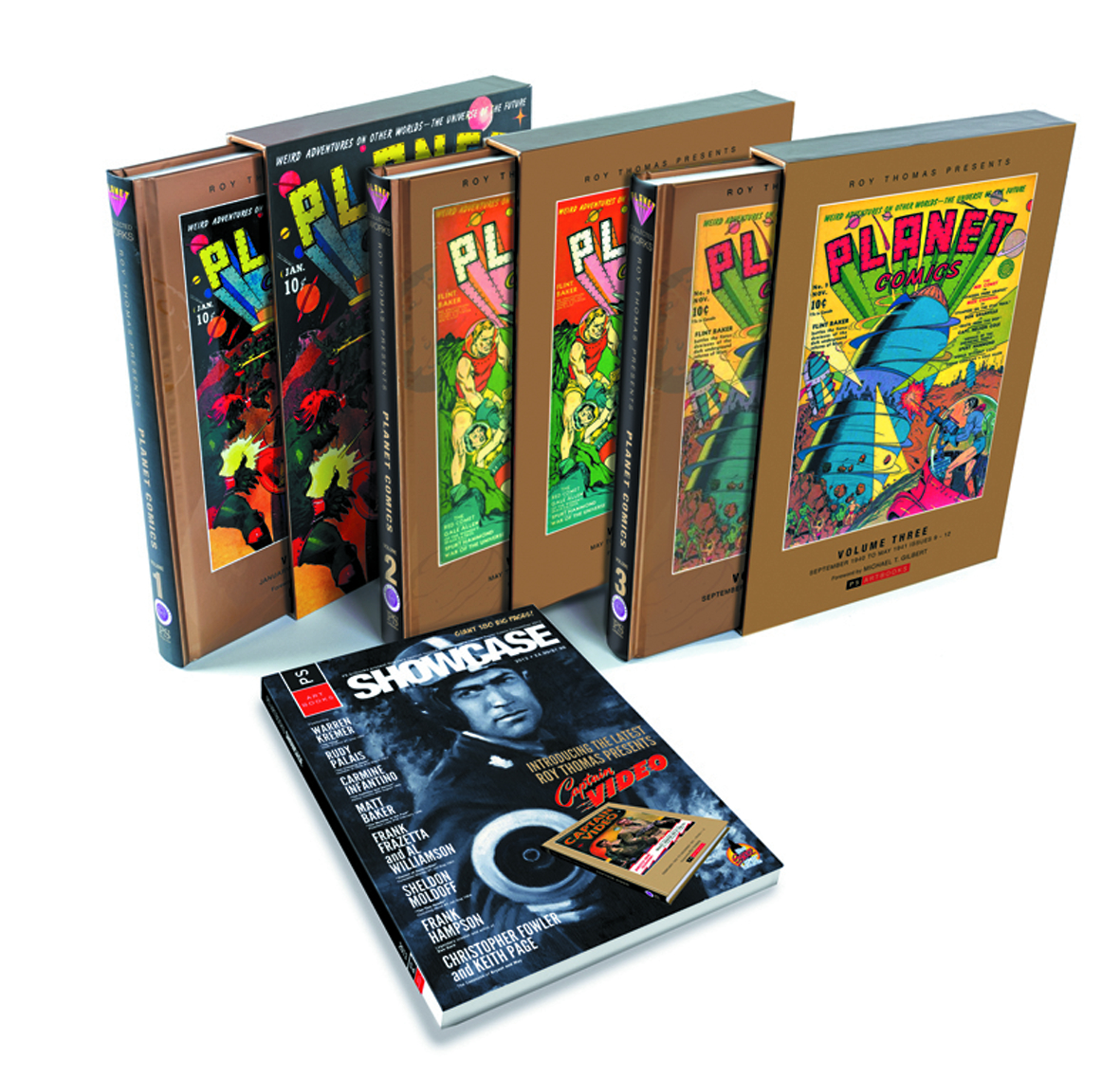 ROY THOMAS PRESENTS COLL PACK PLANET COMICS SLIPCASE ED