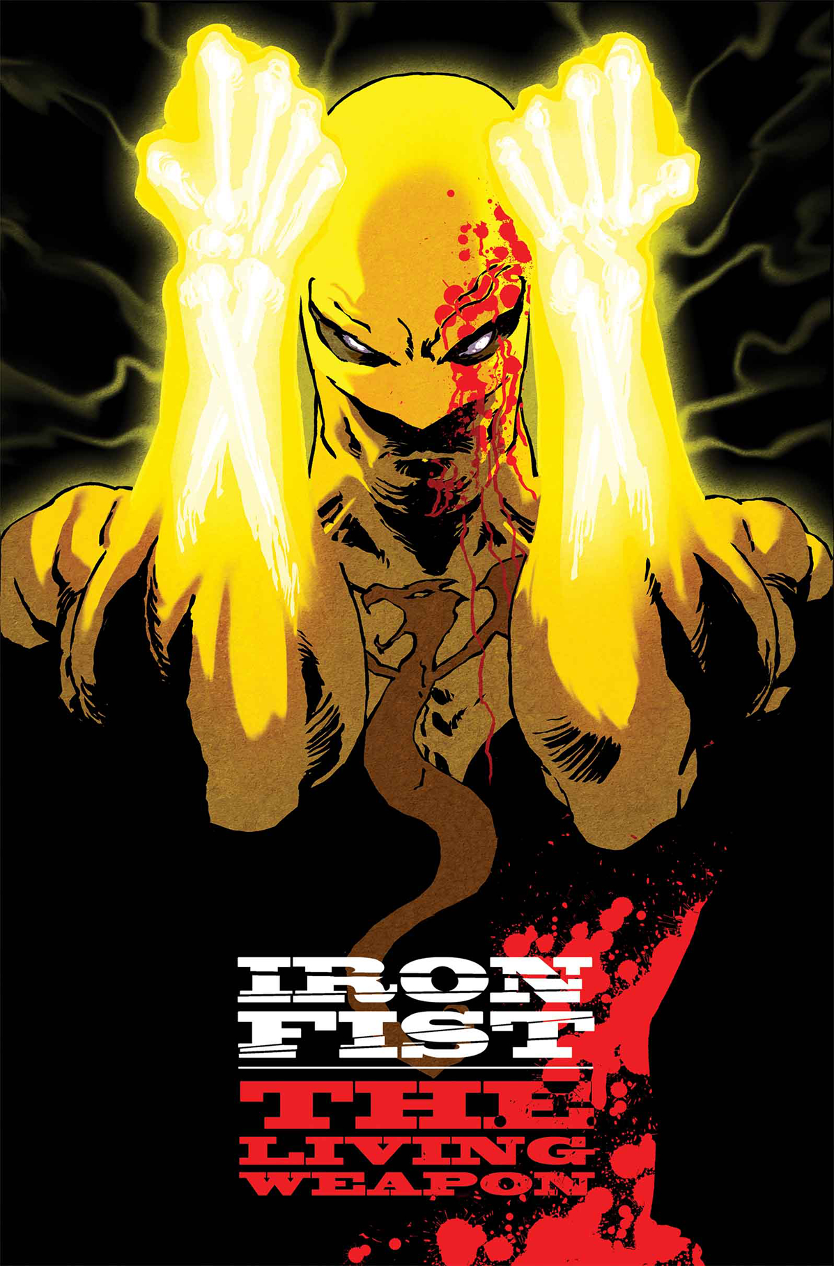 IRON FIST LIVING WEAPON #1 BLANK VAR ANMN