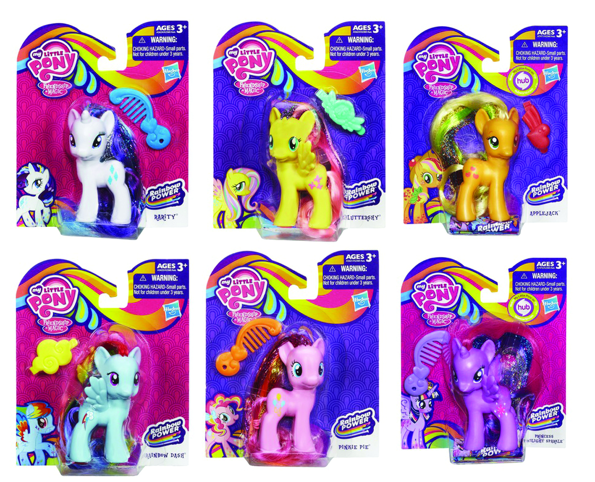 MY LITTLE PONY FIGURE ASST 201401