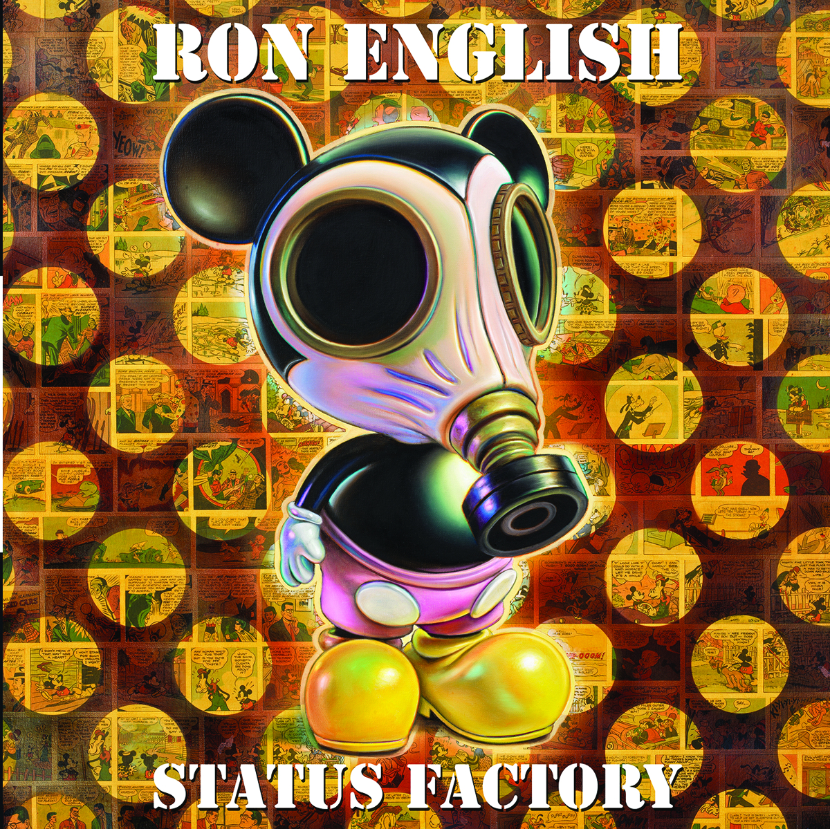 STATUS FACTORY ART OF RON ENGLISH HC