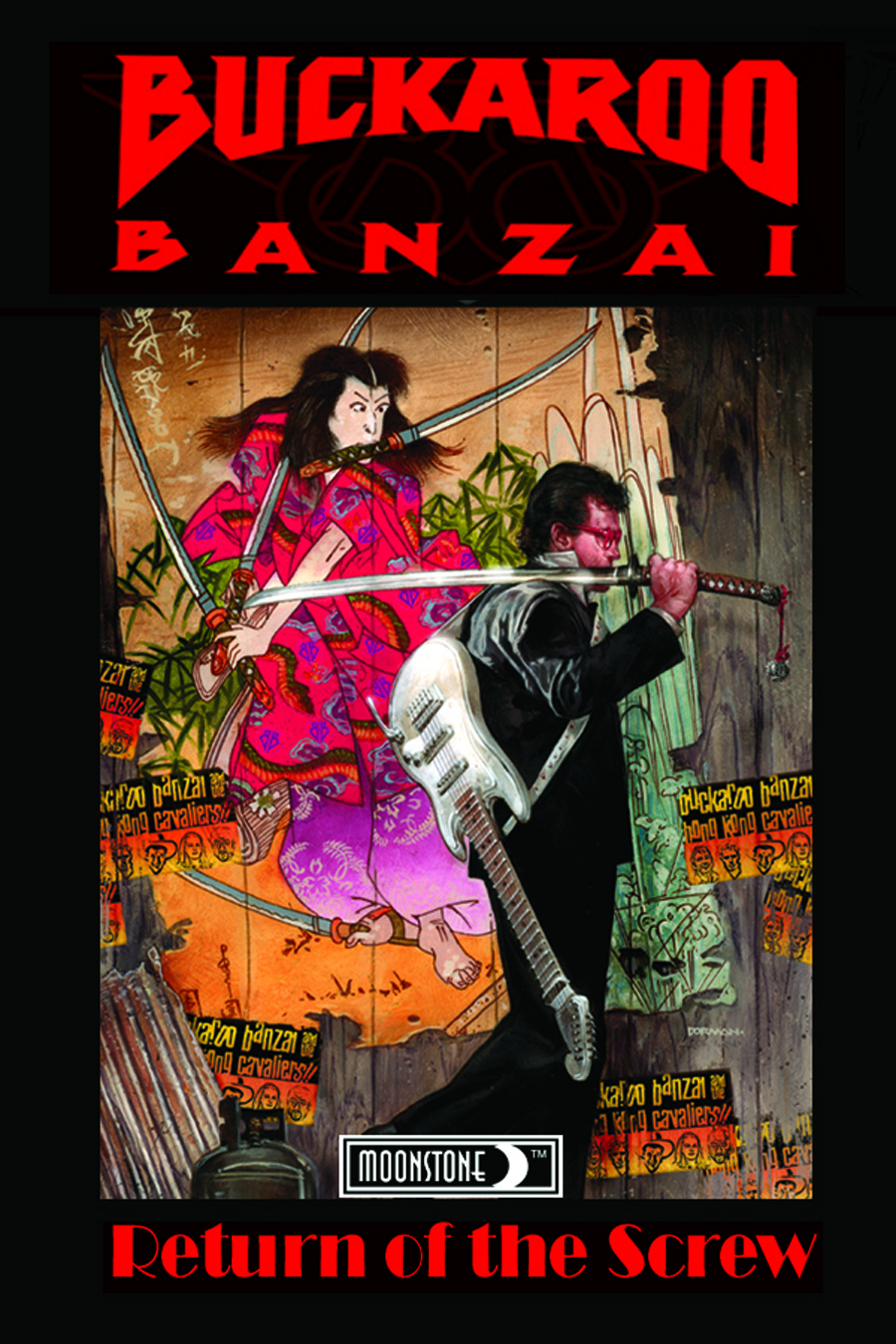 BUCKAROO BANZAI TP VOL 01 RETURN OF THE SCREW NEW PTG