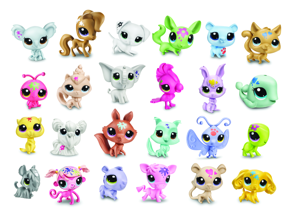 LITTLEST PET SHOP PET BMB DISPLAY 201401