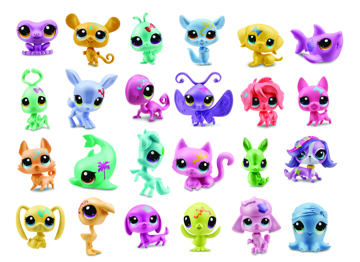 LITTLEST PET SHOP PET BMB DISPLAY 201402