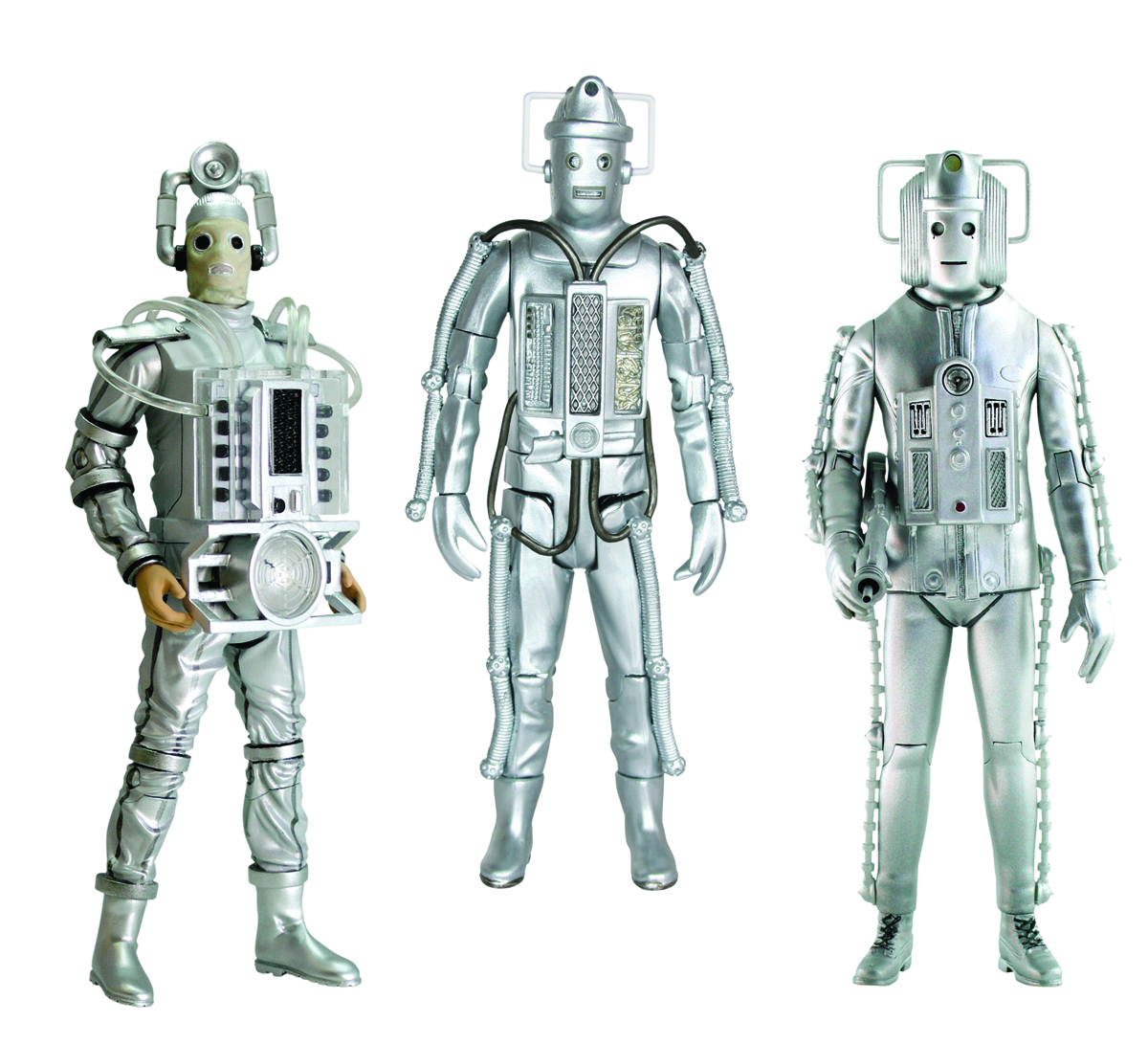 DOCTOR WHO CYBERMAN AGE OF STEEL AF SET
