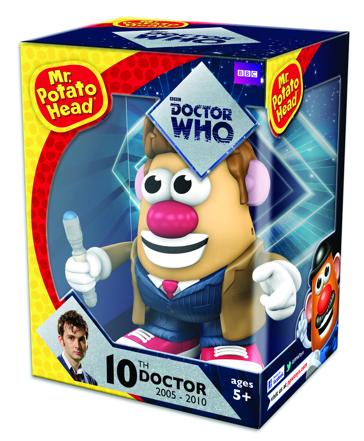 MR POTATO HEAD DOCTOR WHO 10TH DOCTOR