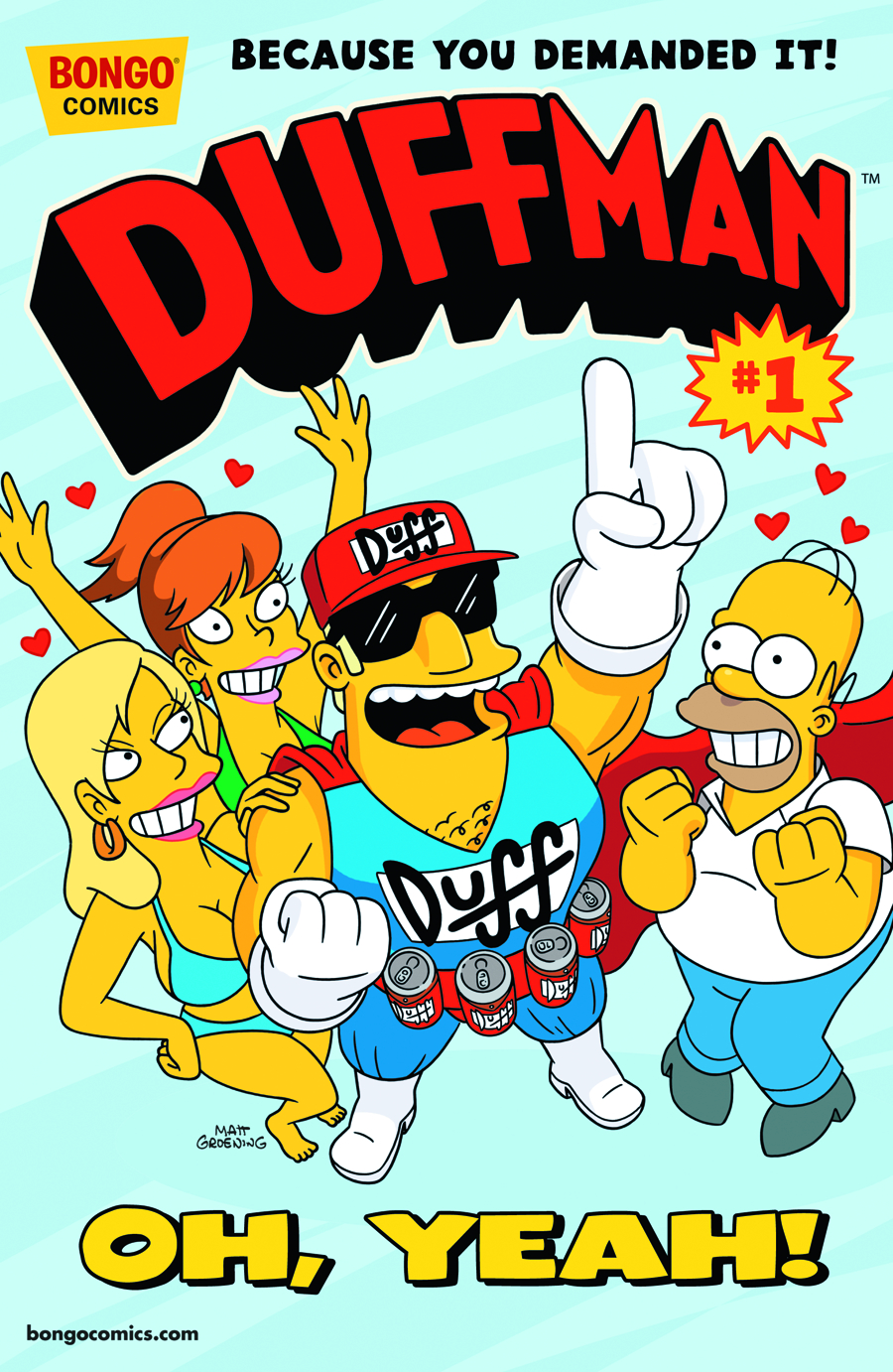 DUFFMAN ADVENTURES #1