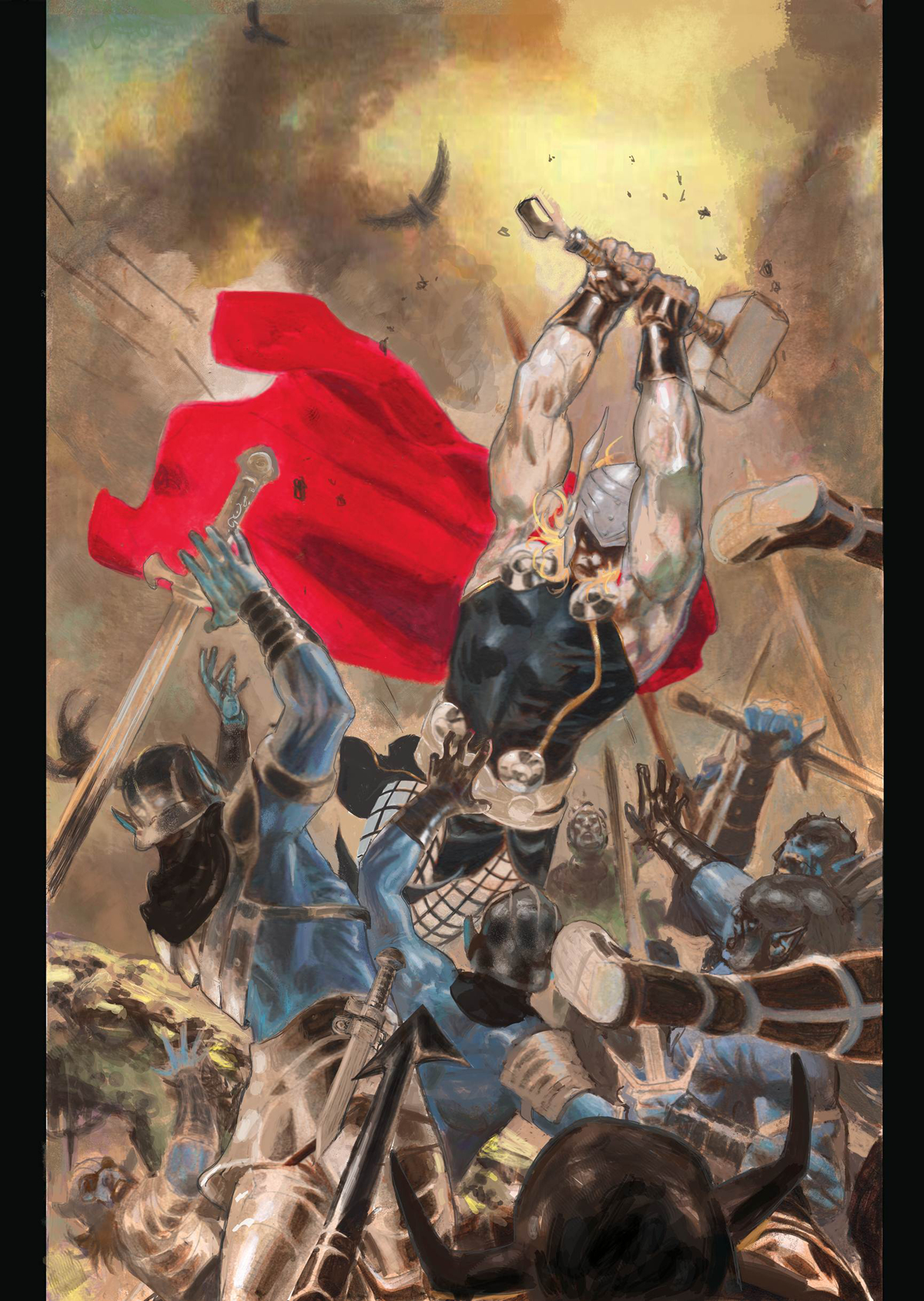 THOR GOD OF THUNDER #21 GARNEY VAR ANMN