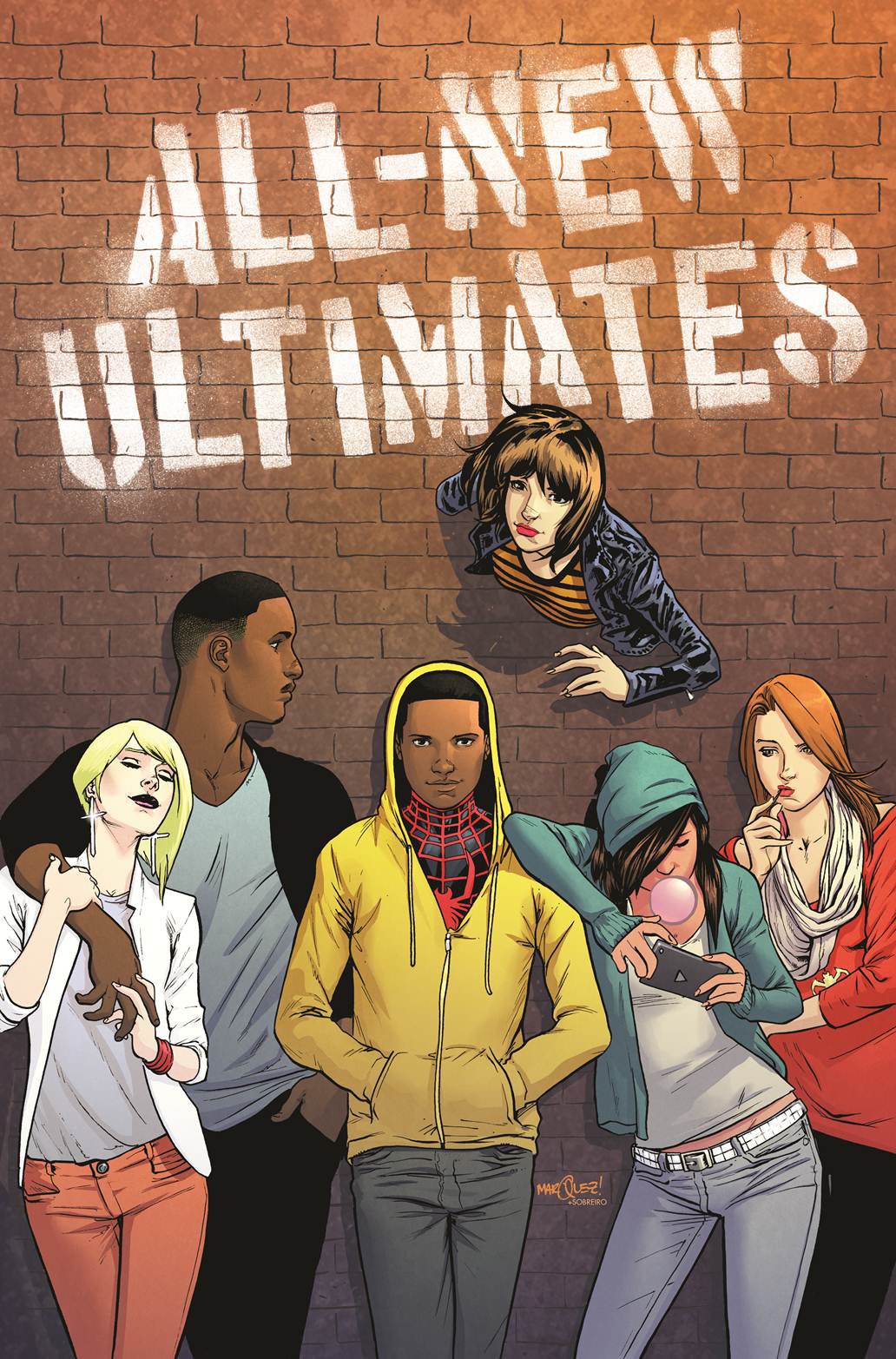 ALL NEW ULTIMATES #1 MARQUEZ VAR