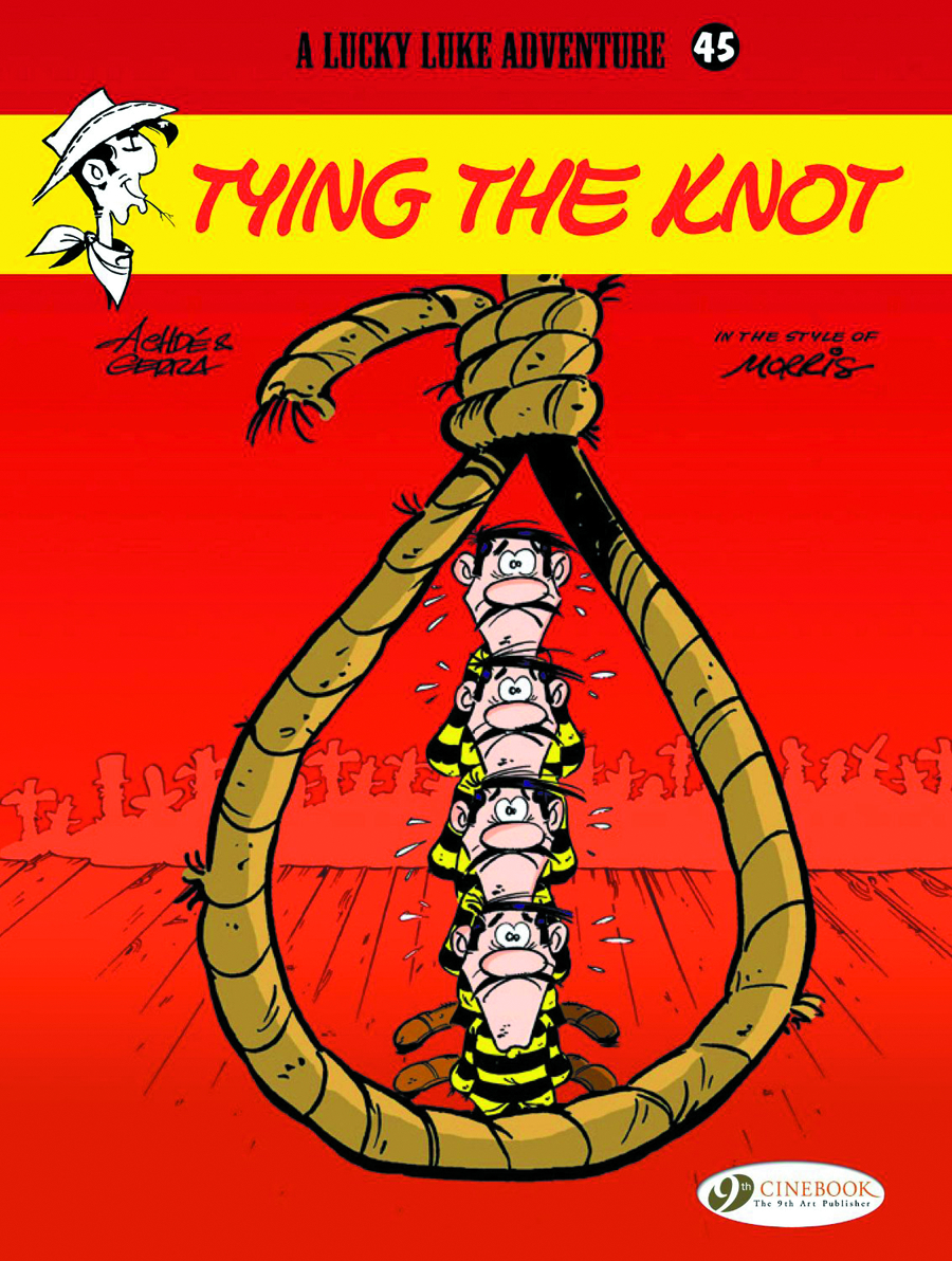 LUCKY LUKE TP VOL 45 TYING THE KNOT