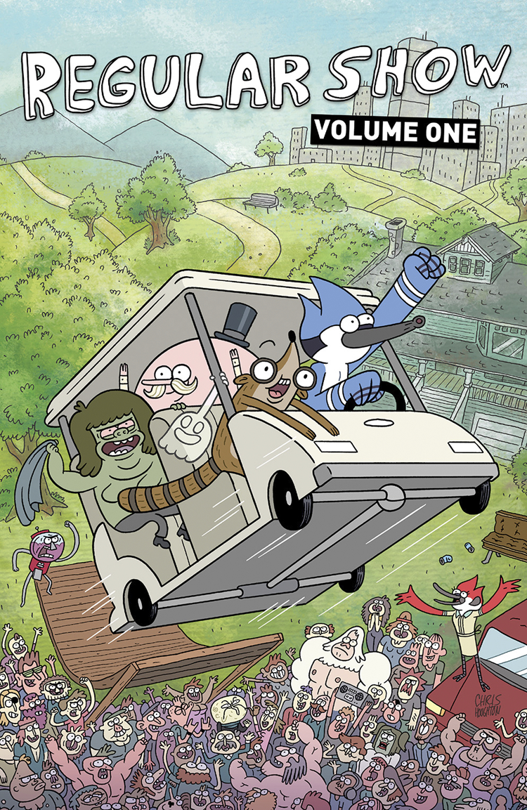 REGULAR SHOW TP VOL 01