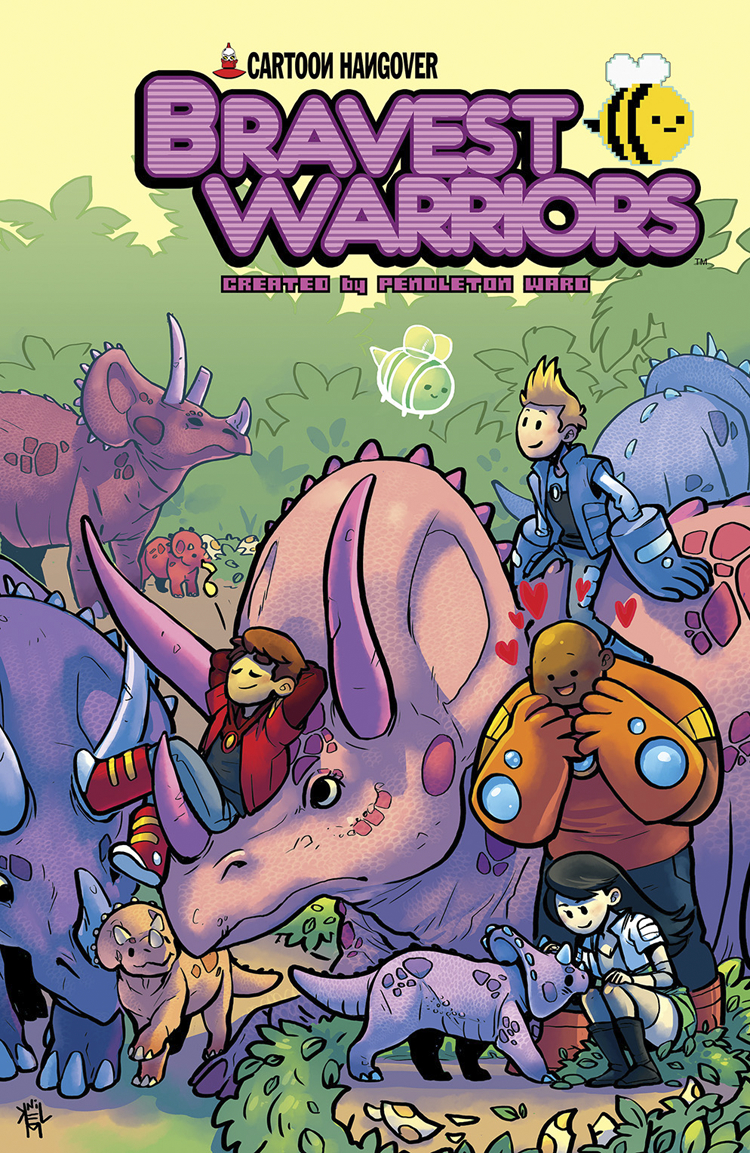 BRAVEST WARRIORS #19 MAIN CVRS