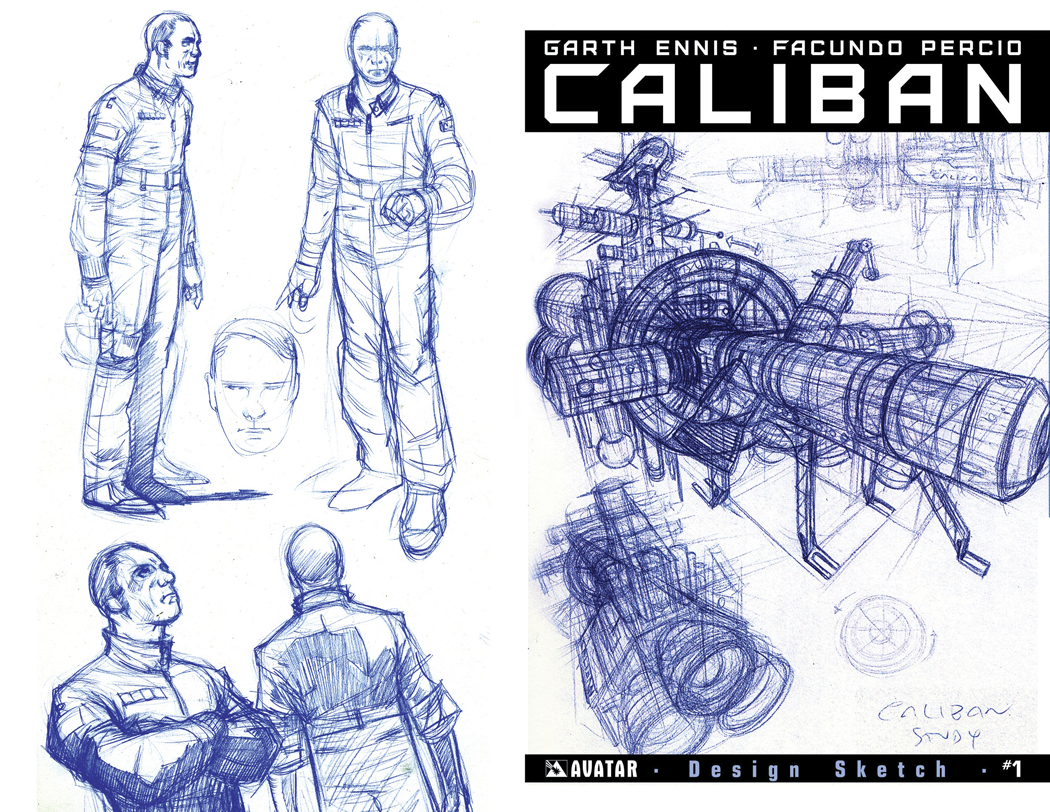 CALIBAN #1 DESIGN SKETCH ORDER INCV