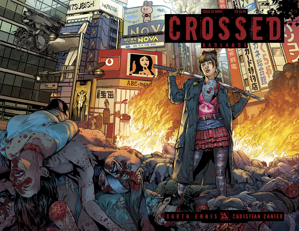 CROSSED BADLANDS #52 WRAP CVR