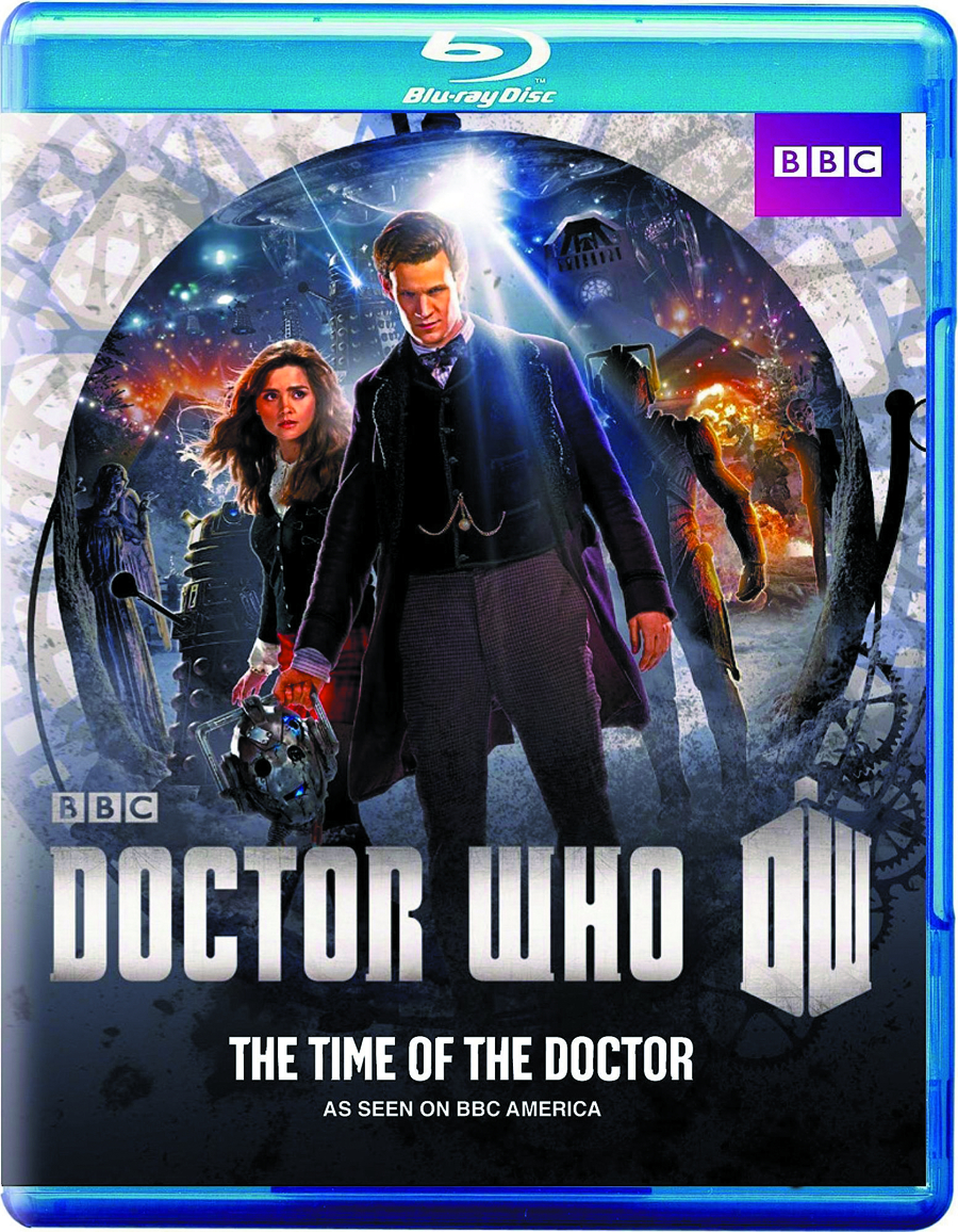 DOCTOR WHO TIME OF THE DOCTOR DVD