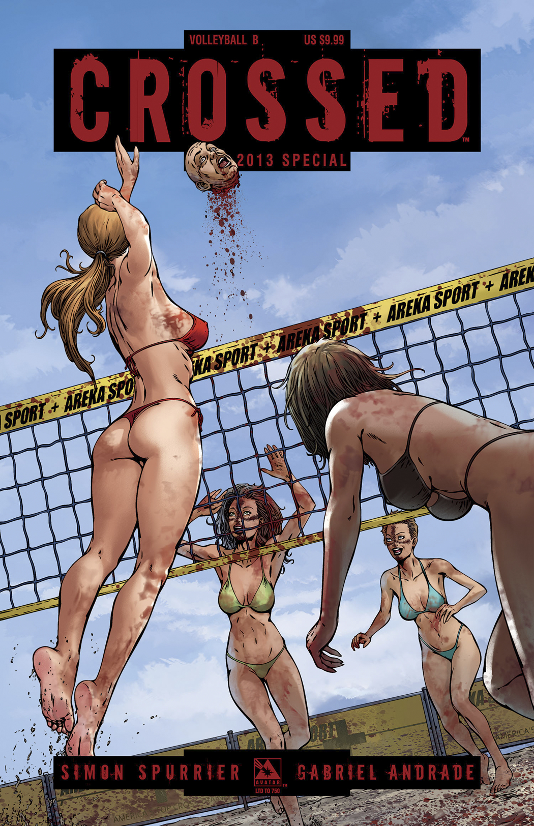 CROSSED SPECIAL 2013 VOLLEYBALL 2 CVR SET