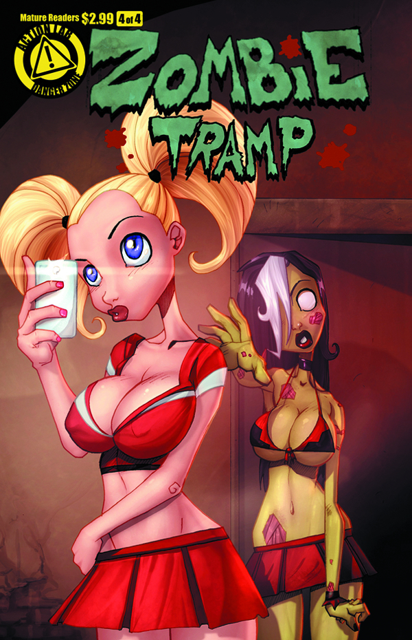 ZOMBIE TRAMP VOL 2 #4 (OF 4) MAIN COVER