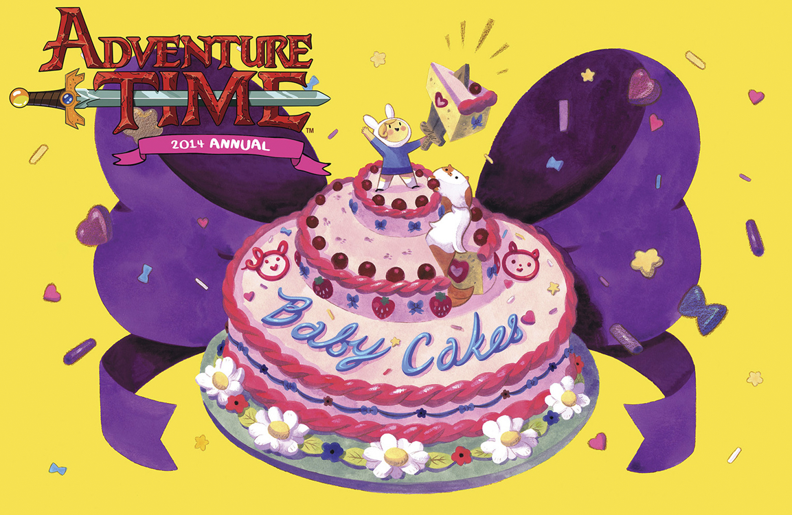 ADVENTURE TIME 2014 ANNUAL #1