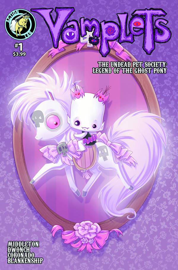 VAMPLETS UNDEAD PET SOCIETY #1 MAIN CVR