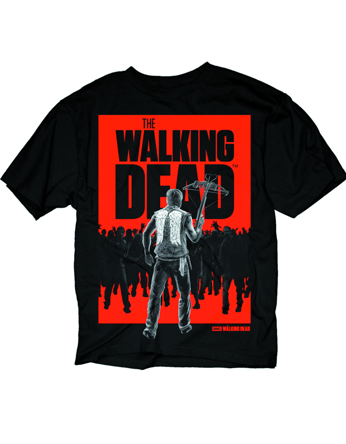 WALKING DEAD DARYL WALKER PX BLK T/S LG