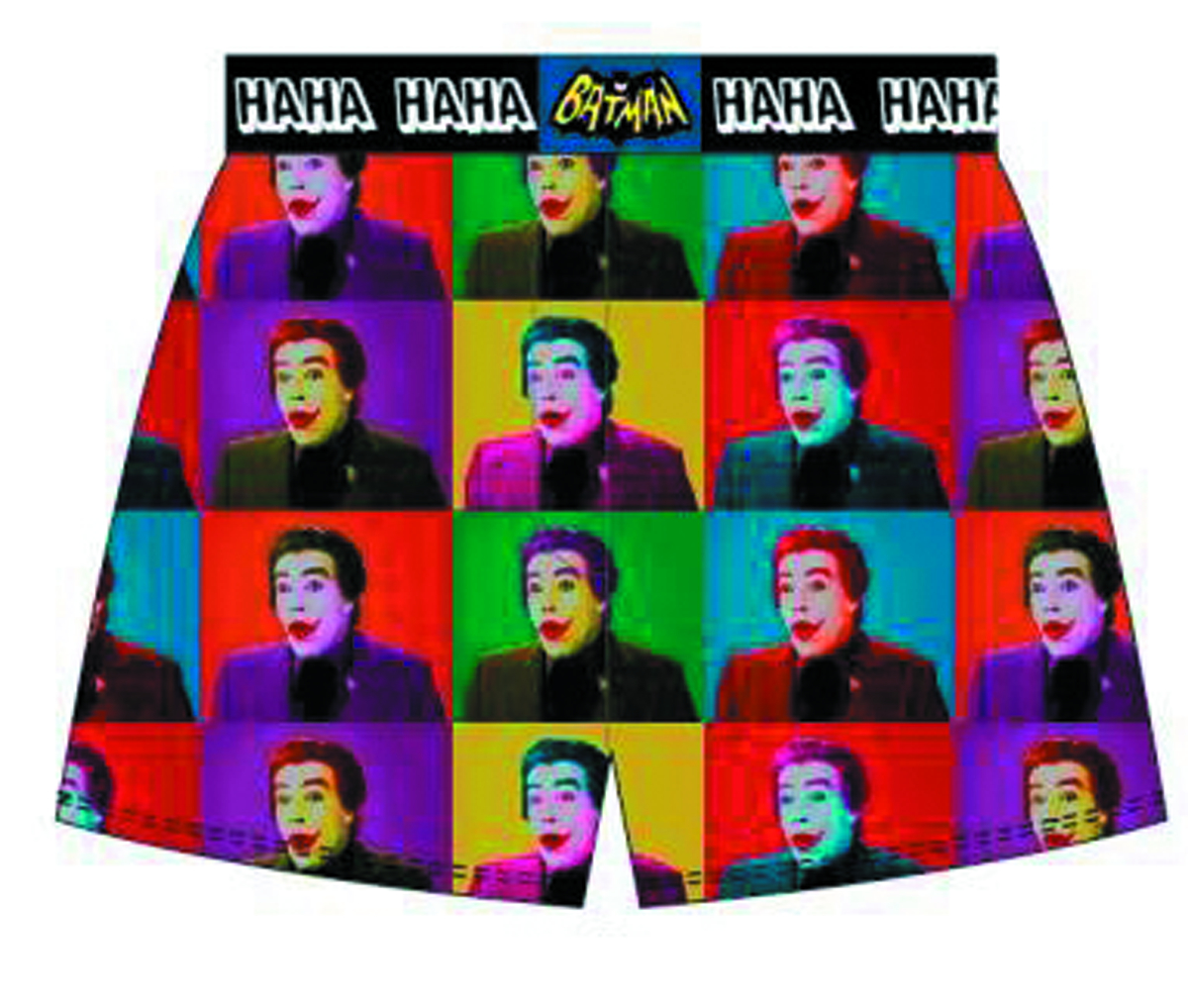 BATMAN 66 JOKER BOXERS SM