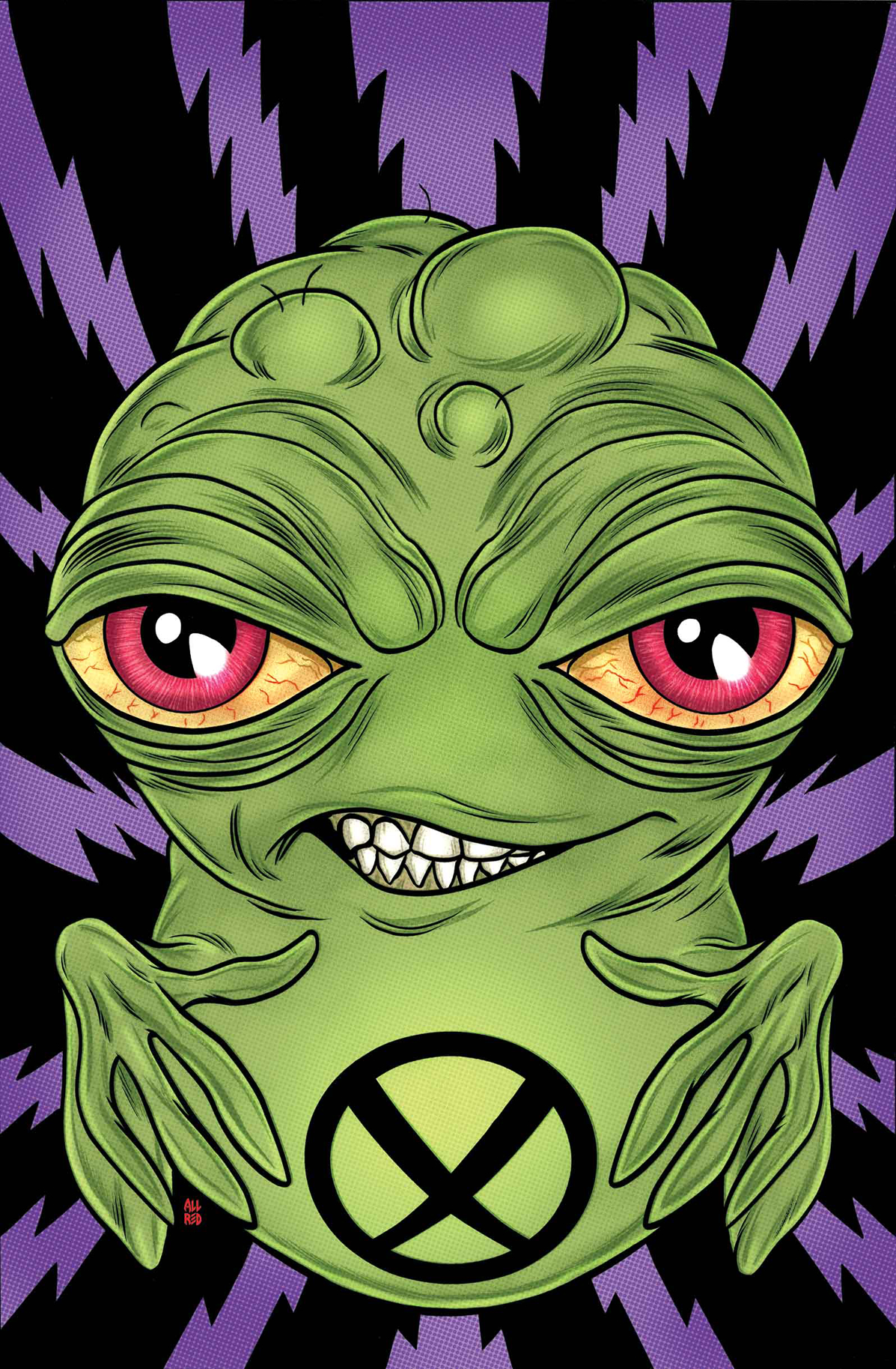 ALL NEW DOOP #1 BY ALLRED POSTER