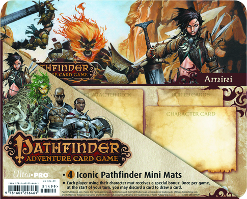 UP PATHFINDER ICONIC CHARACTERS MINI MAT 4PK