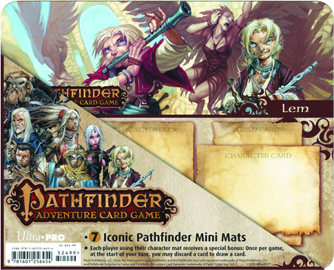 UP PATHFINDER ICONIC CHARACTERS MINI MAT 7PK