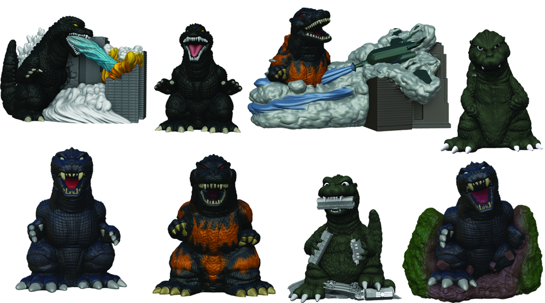 GODZILLA 2014 FINGER PUPPET 20PC BMB DS