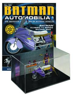 DC BATMAN AUTO FIG MAG #33 CLASSIC TV BATGIRL BIKE