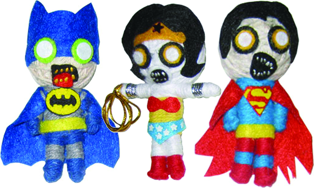 DC COMICS ZOMBIE STRING DOLL 18PC ASST