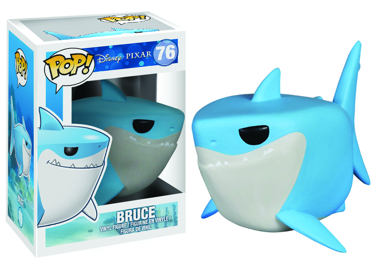POP DISNEY FINDING NEMO BRUCE VINYL FIG
