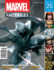MARVEL FACT FILES #25 MOON KNIGHT COVER