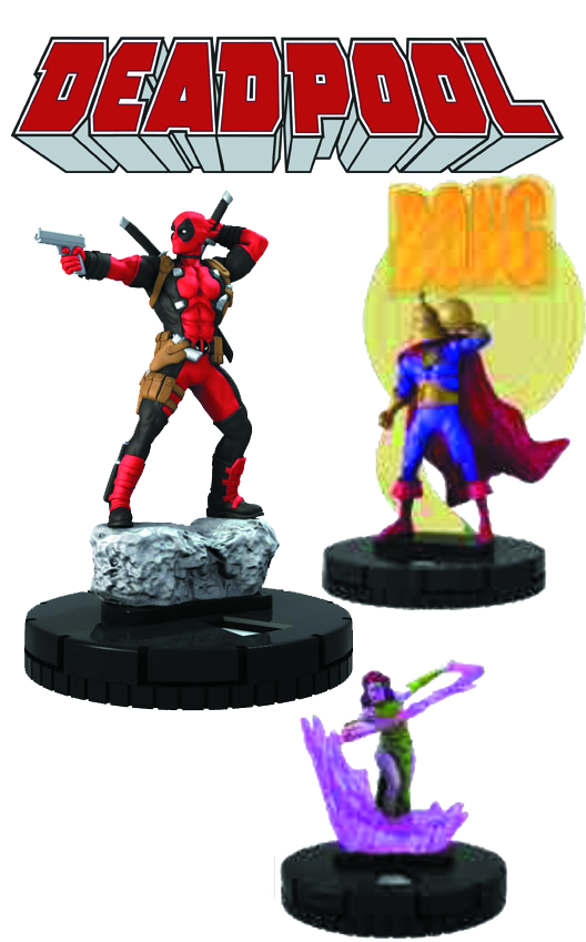 MARVEL HEROCLIX DEADPOOL 24 CT DISPLAY