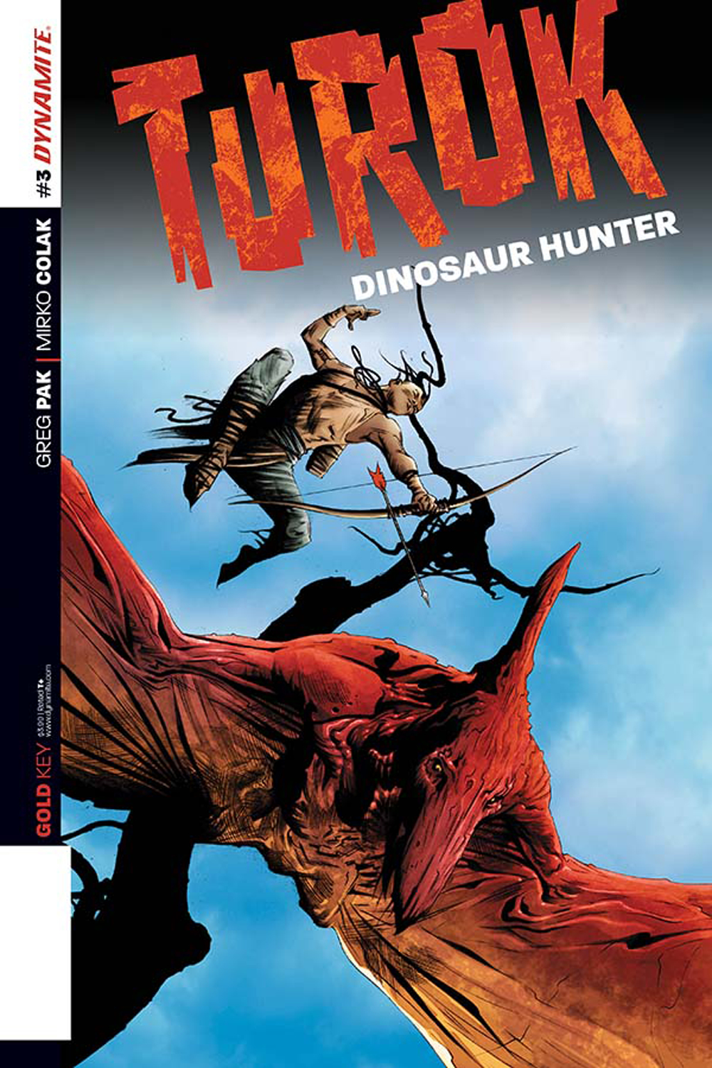 TUROK DINOSAUR HUNTER #3 EXC LEE SUBSCRIPTION VAR